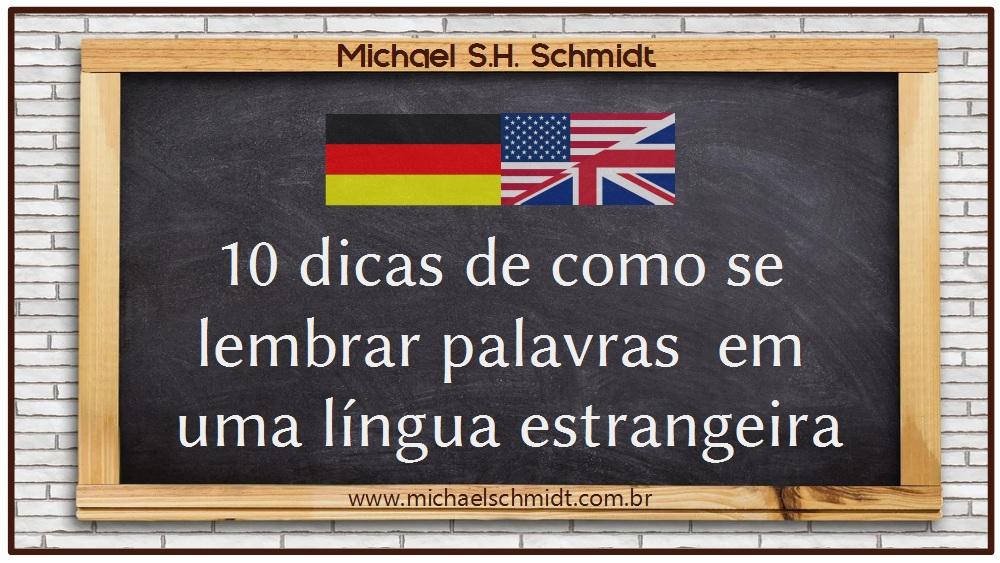 Banner 10 Dicas comprovadas de como se lembrar palavras em uma língua estrangeira