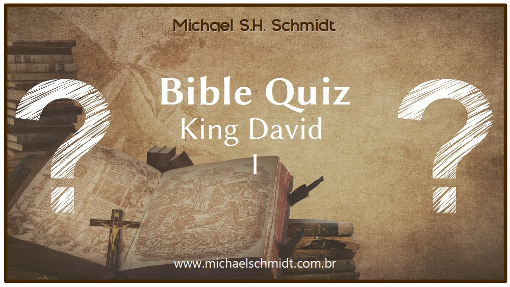 Banner Bible Quiz about King David 01