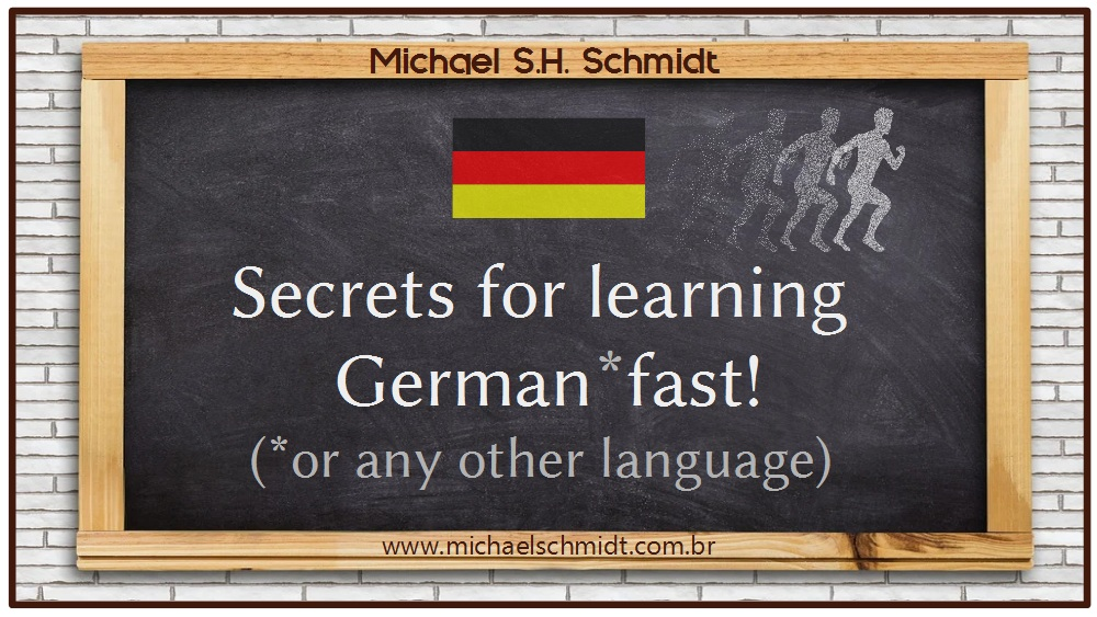 Banner - Secrets for learning German or any other language fast