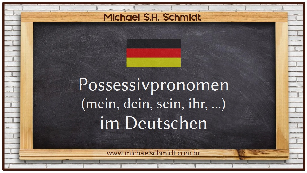Banner Blog Possessivpronomen im Deutschen